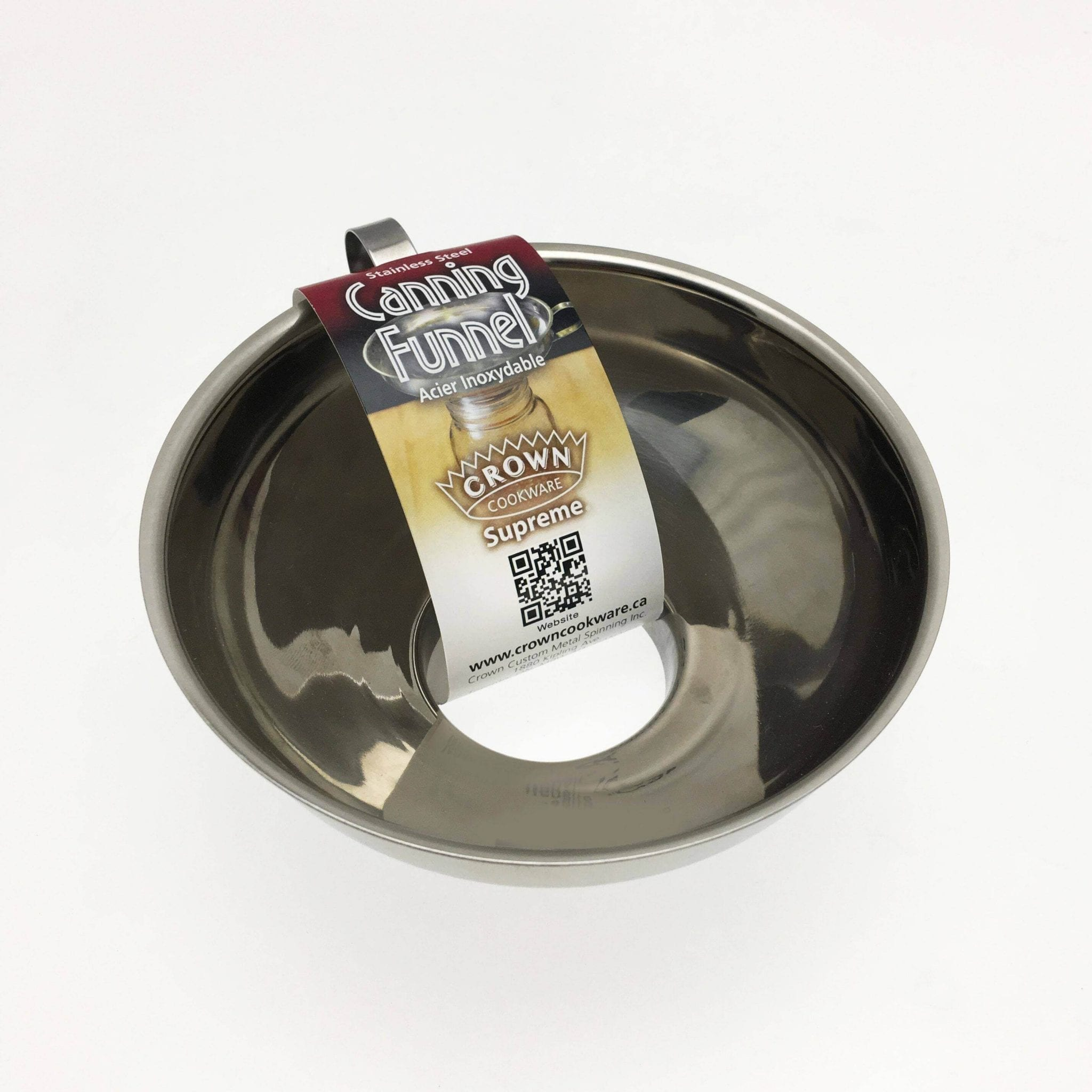 STAINLESS STEEL CANNING FUNNEL